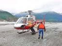 On the Meade glacier