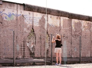 The infamous Berlin Wall