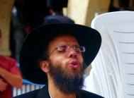 Orthodox Jew at Wailing Wall