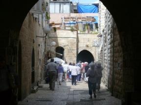 06 Jerusalem 8 - street in Old City