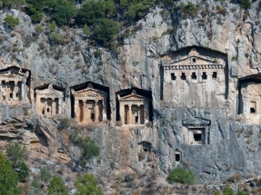 Temple-tombs in Dalyan