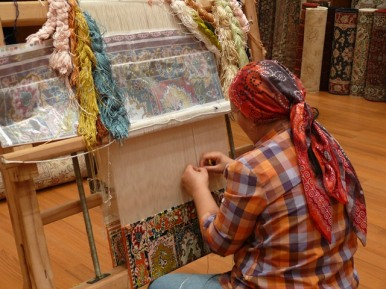 Hand-made Turkish carpets