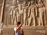 Edfu reliefs