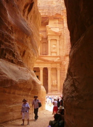 15-9 in the Siq, Petra