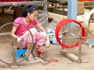 blog8 27 dusty village life-silk weaving