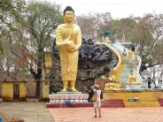 blog8 47 dusty village life-standing Buddha