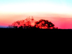 04d The Ghan sunset