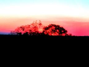 04d The Ghan sunset