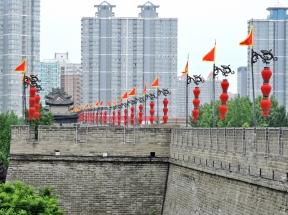 10-23 Xi'an - Ming walls