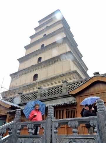 10-30 Xi'an - Wild Goose Pagoda