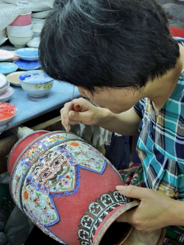 12-12 Beijing - cloisonné