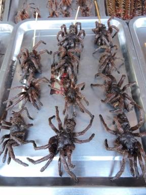 12-15 Beijing BBQ - tarantula spiders