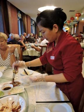 12-62 Beijing - Peking Duck Dinner